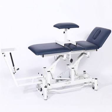 Cervical lumbar traction bed