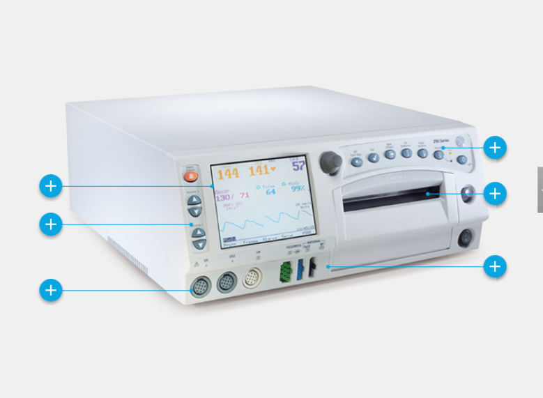 Corometrics 250cx Series Maternal/Fetal Monitor