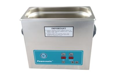 Crest Ultrasonic Cleaner w/Heat 1 Gallon