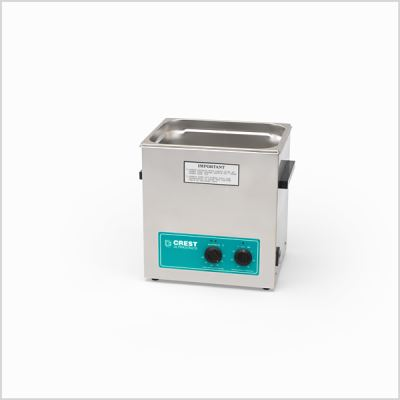 Crest Ultrasonic Cleaner w/Heat 3.25 Gallon