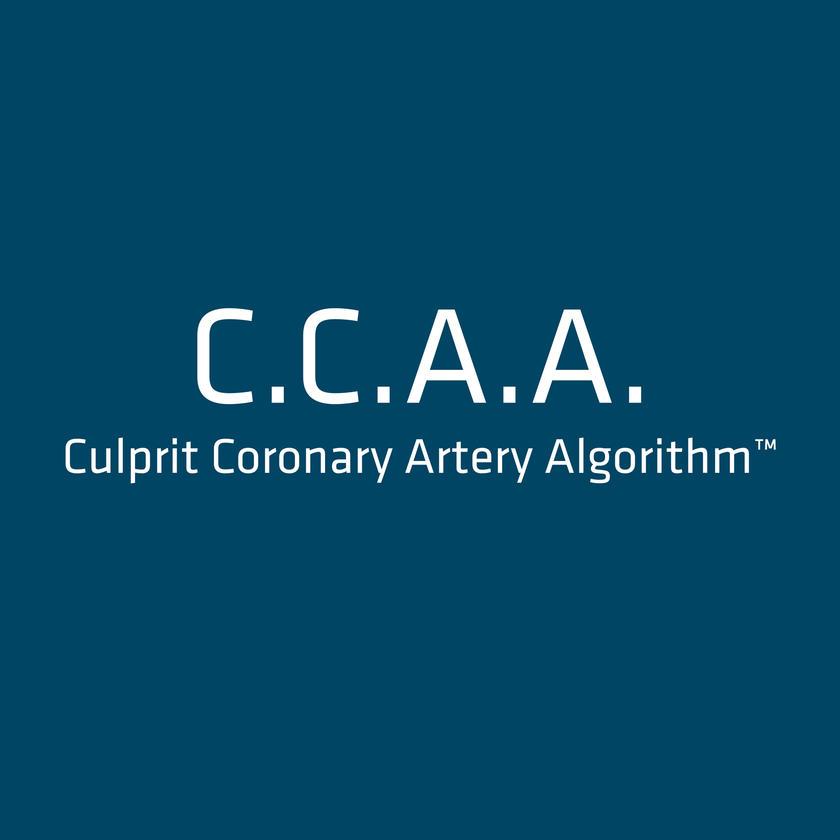 CULPRIT CORONARY ARTERY ALGORITHM  C.C.A.A.