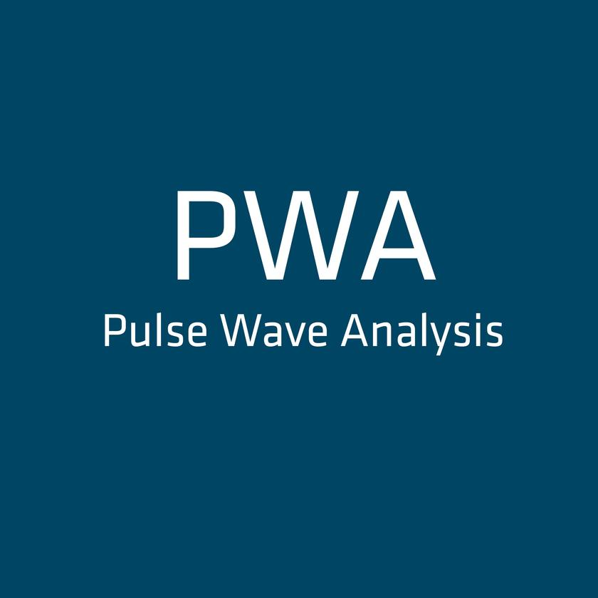 DETECTION OF PULSE WAVE VELOCITY IN ARTERIES WITH ABPM  PWA - PULSE WAVE ANALYSIS