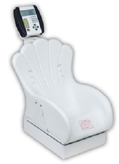 Detecto Digital Pediatric Scale with Inclined Chair Seat