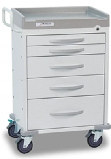 Detecto Rescue Medical Carts (5 Drawers)