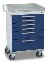 Detecto Whisper Medical Cart (6 Drawers)