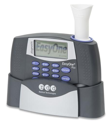 EasyOne Plus Diagnostic Spirometer, Cradle, Printer and EasyWare Software