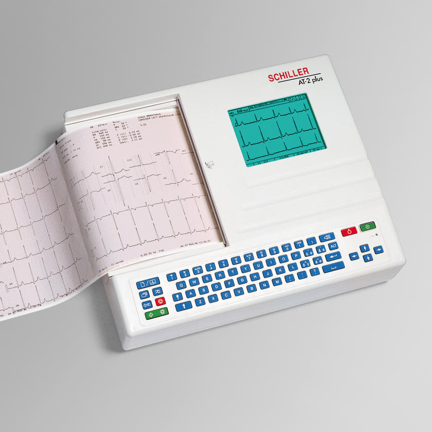 ECG AND SPIROMETER  CARDIOVIT AT-2 PLUS