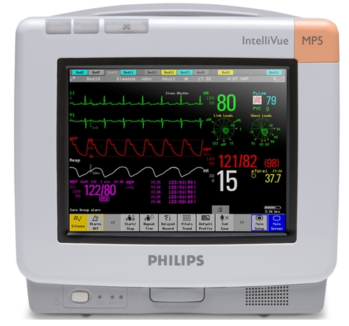 Philips IntelliVue MP5 Multiparameter Monitor