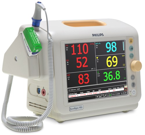 Philips SureSigns VS3 Vital Signs Monitor
