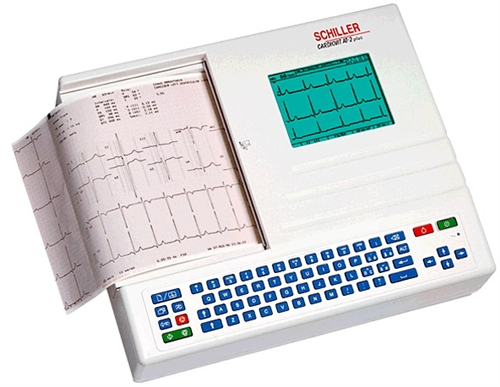 Schiller CARDIOVIT AT-2plus 12-Channel Resting EKG Machine