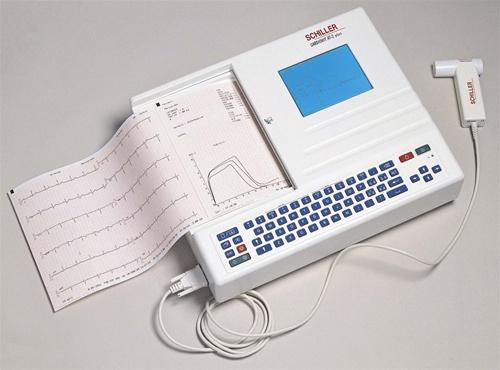 Schiller CARDIOVIT AT-2plus 12-Channel Resting EKG Machine w/ Spirometry