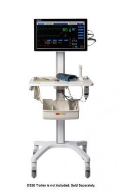Schiller DS20 Diagnostic Station w/ NIBP, Masimo SpO2 & 12-Lead ECG with Interpretation