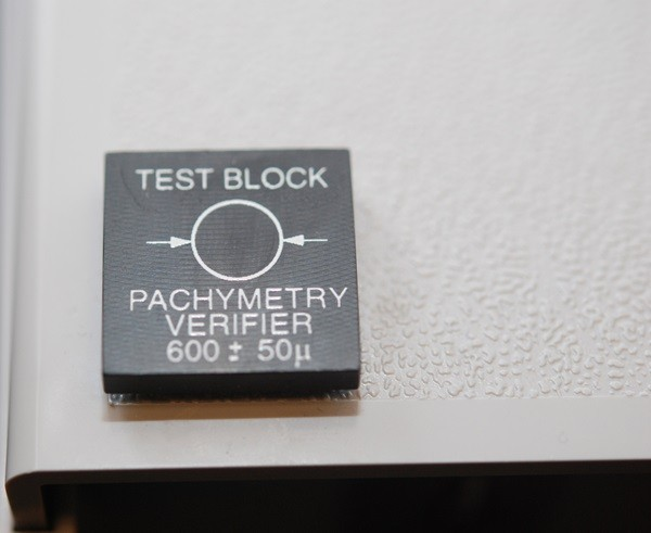 Test Block for AccuPen & AccuPach VI Pachymeters