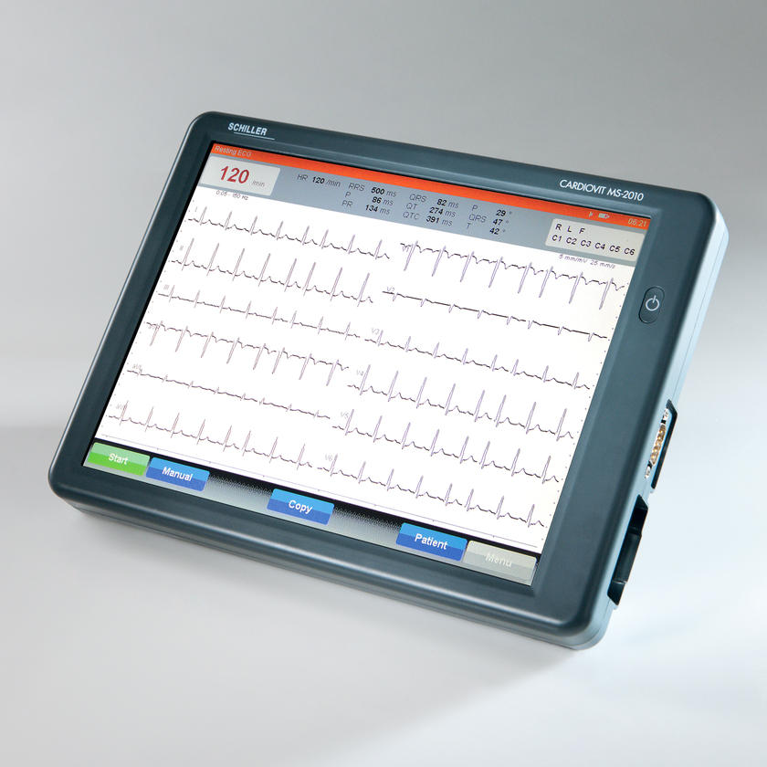 TOUCHSCREEN ECG  CARDIOVIT MS-2010
