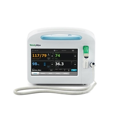 Welch Allyn Connex Vital Signs Monitor 6400 - Blood Pressure, Pulse Rate, MAP, Masimo SpO2 and SureTemp Plus