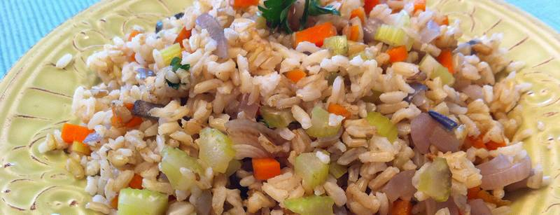 "Tom's ""Fried"" Rice"