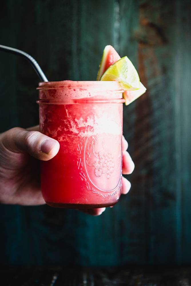 Watermelon Slush (Paleo, Plant-Based)