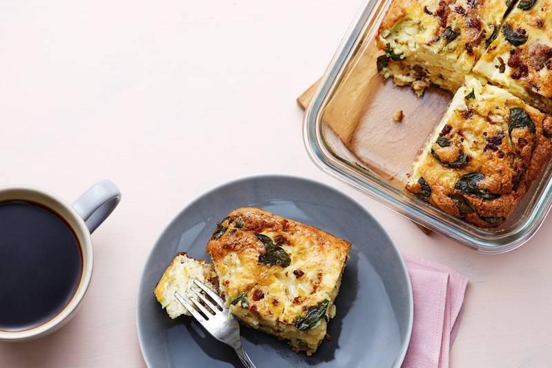 Keto Italian breakfast casserole