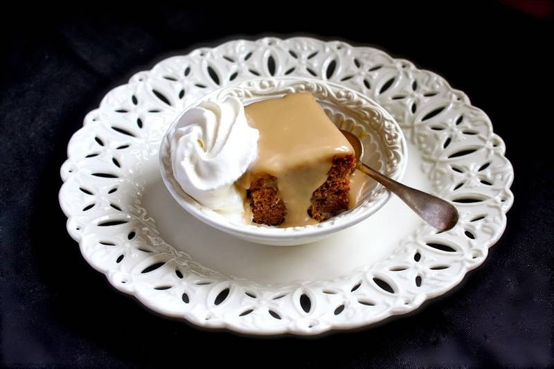 Sticky Toffee Pudding--Heaven on a Plate!
