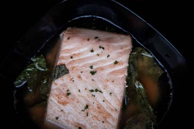 Poached Halibut in Ginger Broth [Recipe]