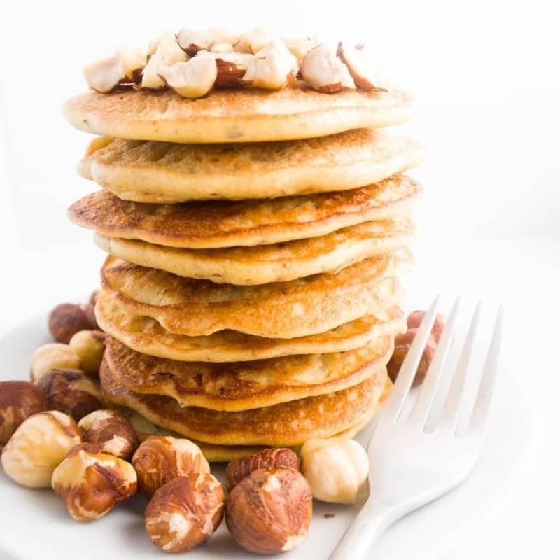 Hazelnut Pancakes (Paleo, Low Carb)