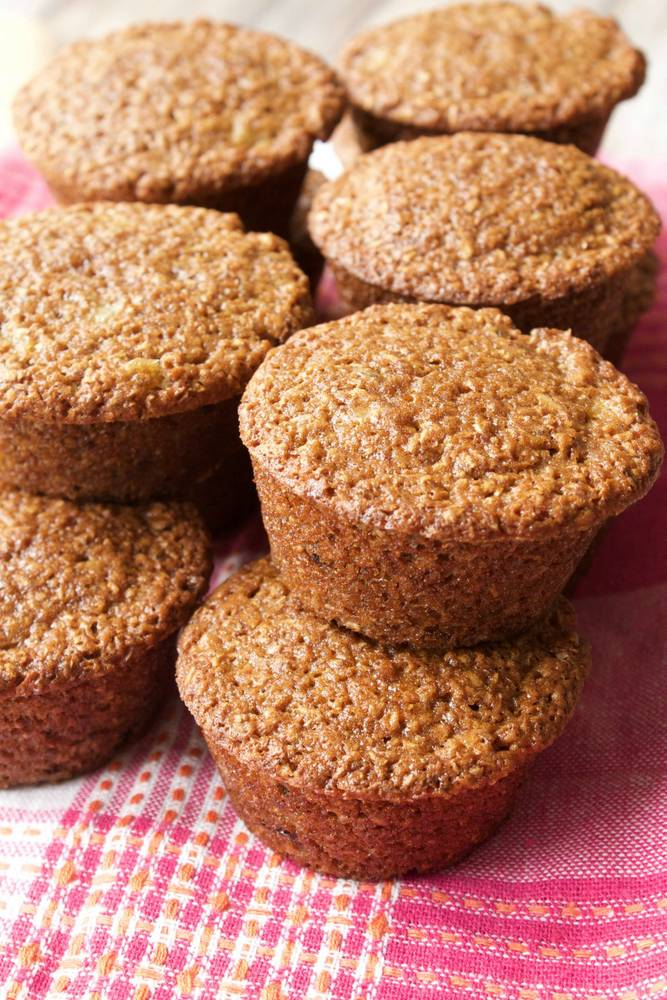 Easy Vegan Raisin Bran Muffins