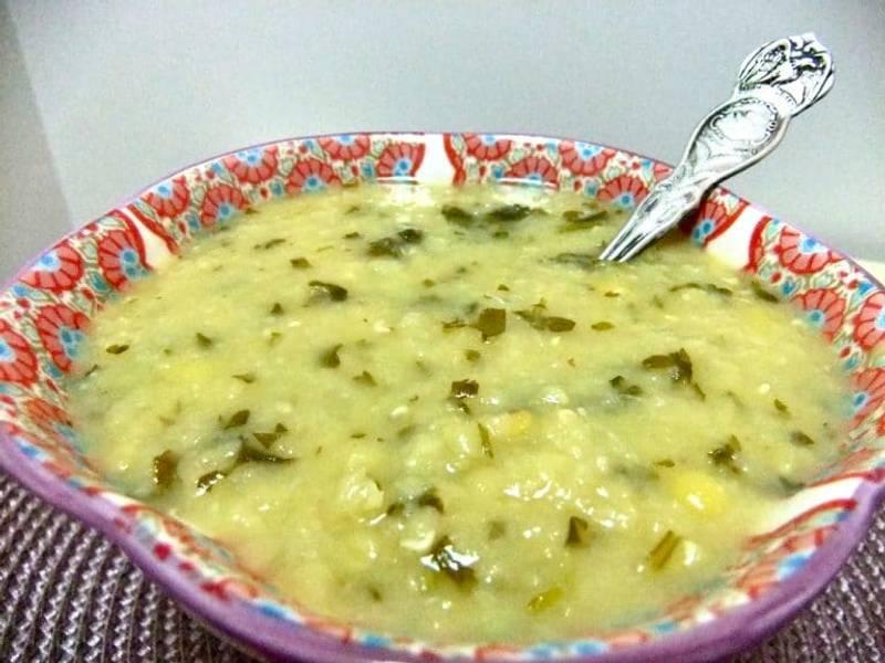 Red Lentil Soup with Lemon and Cilantro
