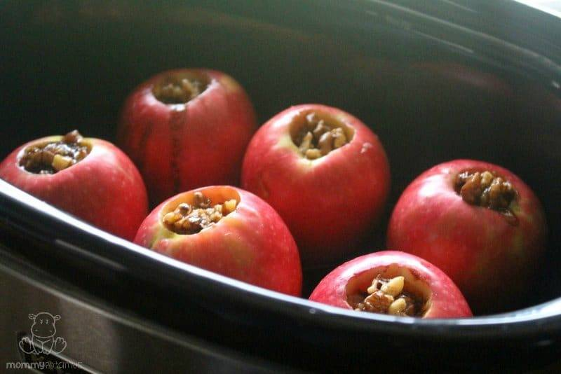 Slow Cooker Apples With Salted Caramel