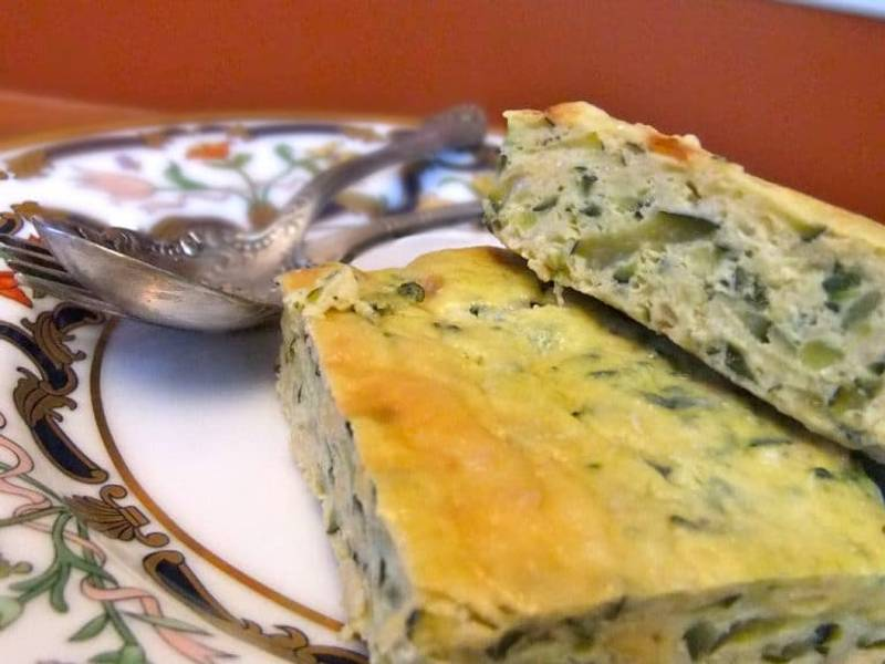 Baked Zucchini Omelette AKA Zucchini Frittata