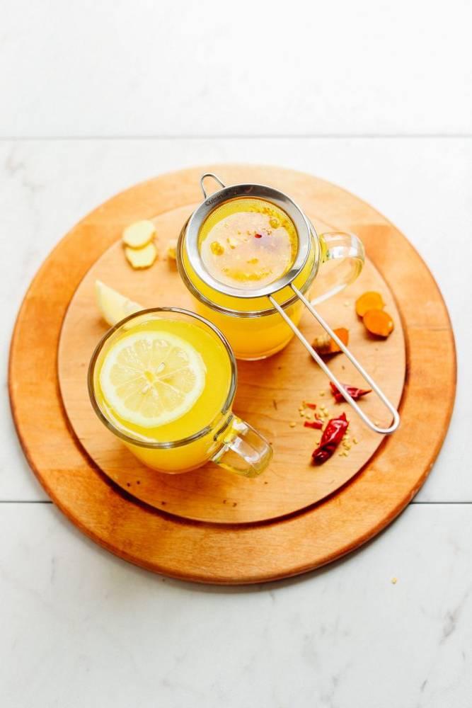 Healing 3-Ingredient Turmeric Tonic
