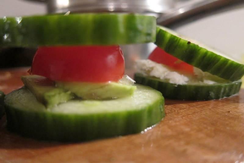Cucumber Tomato Bites Recipe