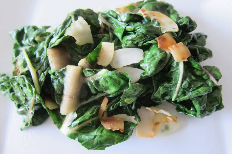 Cumin Swiss Coconut Chard (Paleo, Whole30)