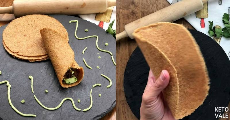 Flaxseed Meal Tortillas