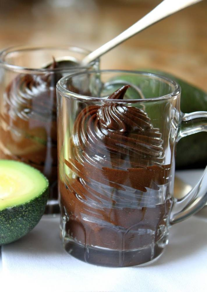Mocha (Avocado) Mousse...and no, it doesn't taste weird!