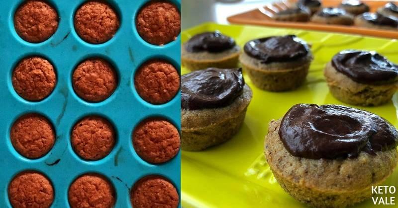 Mini Coffee Chocolate Cupcakes