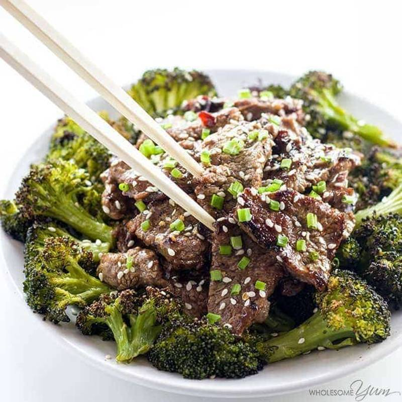 Hunan Beef Recipe in 15 Minutes (Paleo Low Carb Chinese Food)