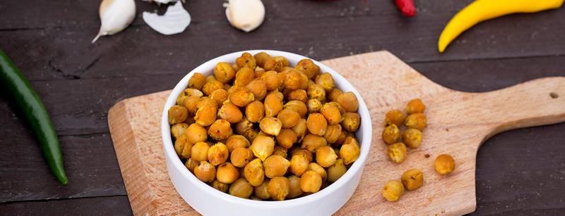 Jordanian Roasted Chickpeas