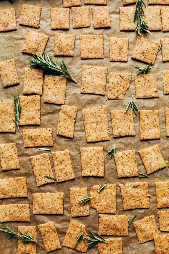 1-Bowl Vegan Gluten Free Crackers