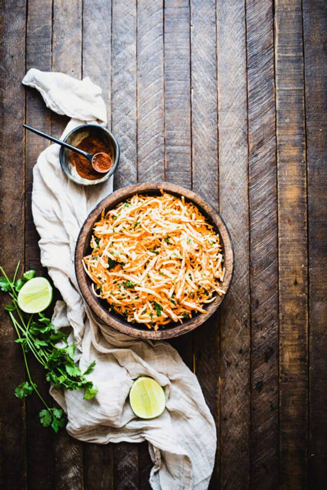 Carrot Jicama Salad (Paleo, Whole30)