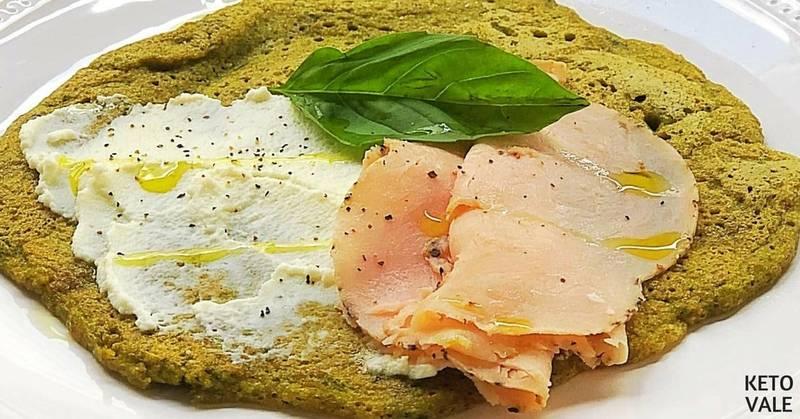 Basil Savory Keto Pancakes