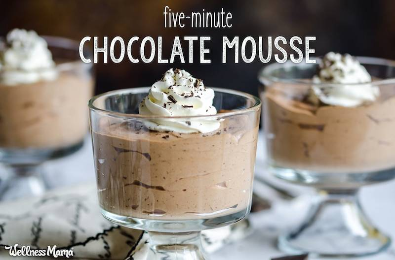 5-Minute Chocolate Mousse Recipe