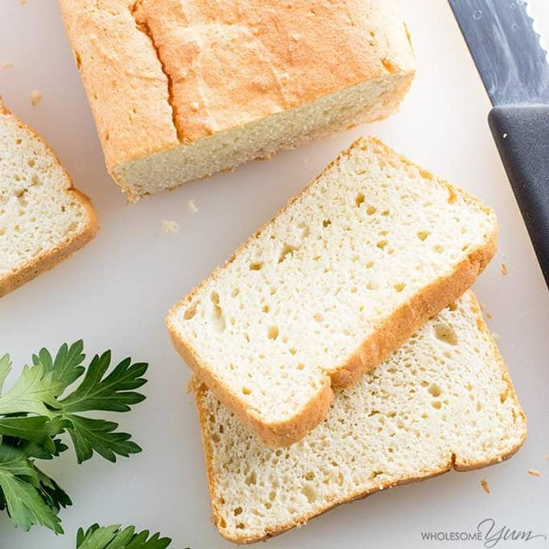 Easy Paleo Keto Bread Recipe - 5 Ingredients