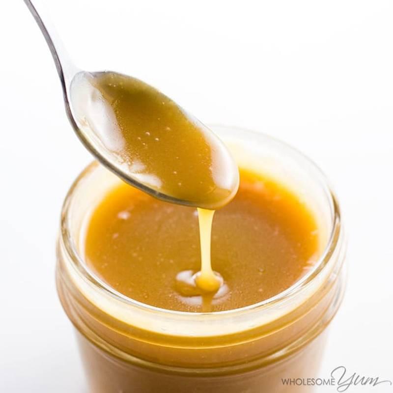 Sugar-free Caramel Sauce Recipe - 4 Ingredients (Low Carb, Keto)