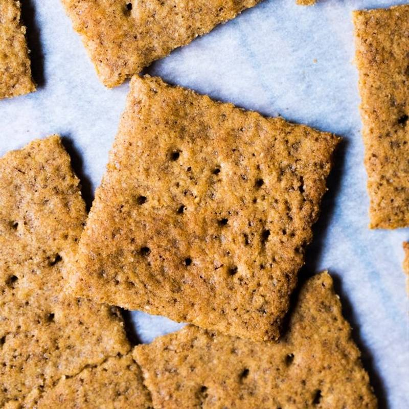 Gluten Free & Keto Graham Crackers