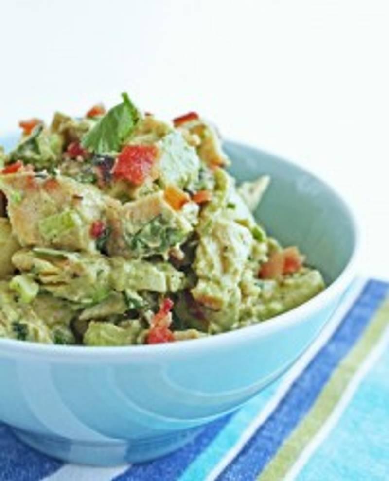 Southwestern Chicken Salad w/ Bacon & Avocado
