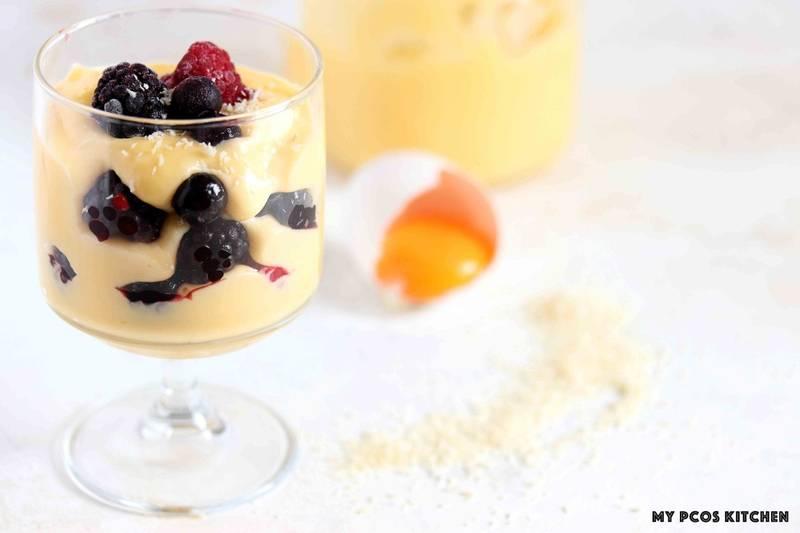 Low Carb Vanilla Pastry Cream