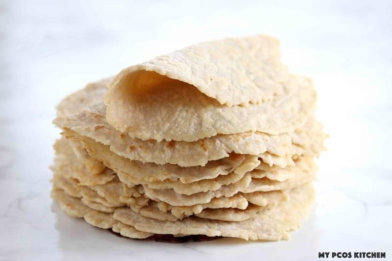 Almond Flour Keto Tortillas Recipe