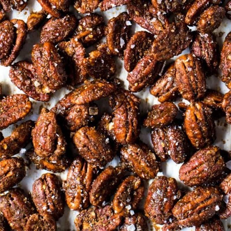 Gluten Free & Keto Candied Pecans