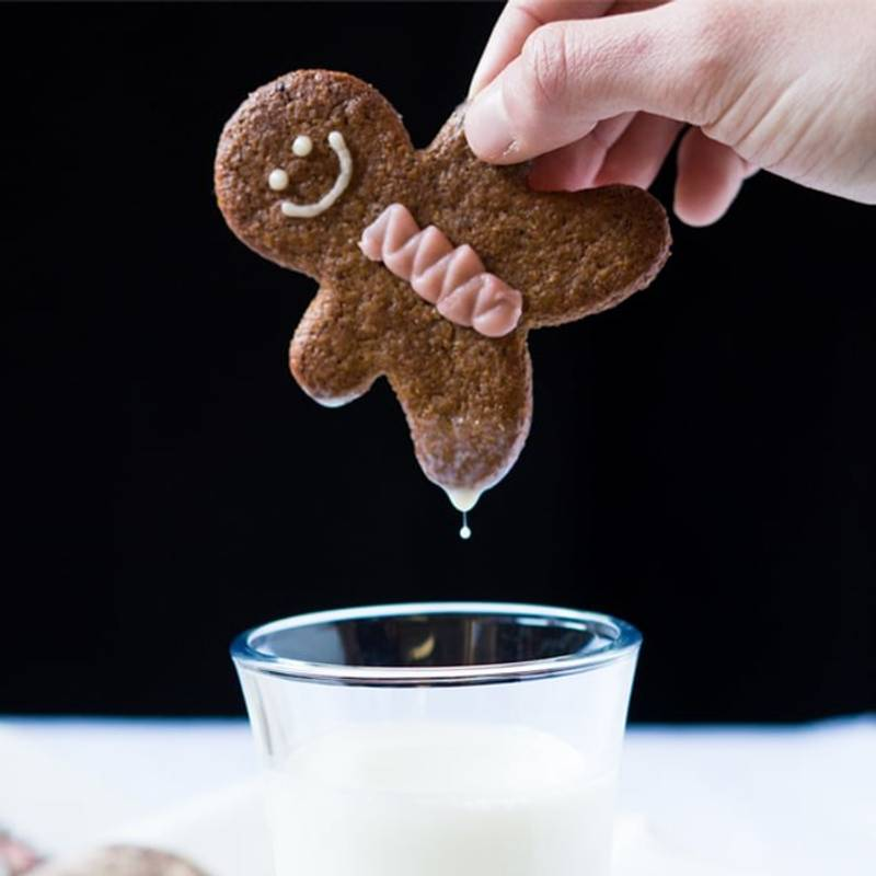 Gluten Free & Keto Gingerbread Cookies