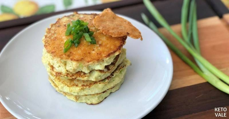 Keto Cauliflower Parmesan Cheese Patties